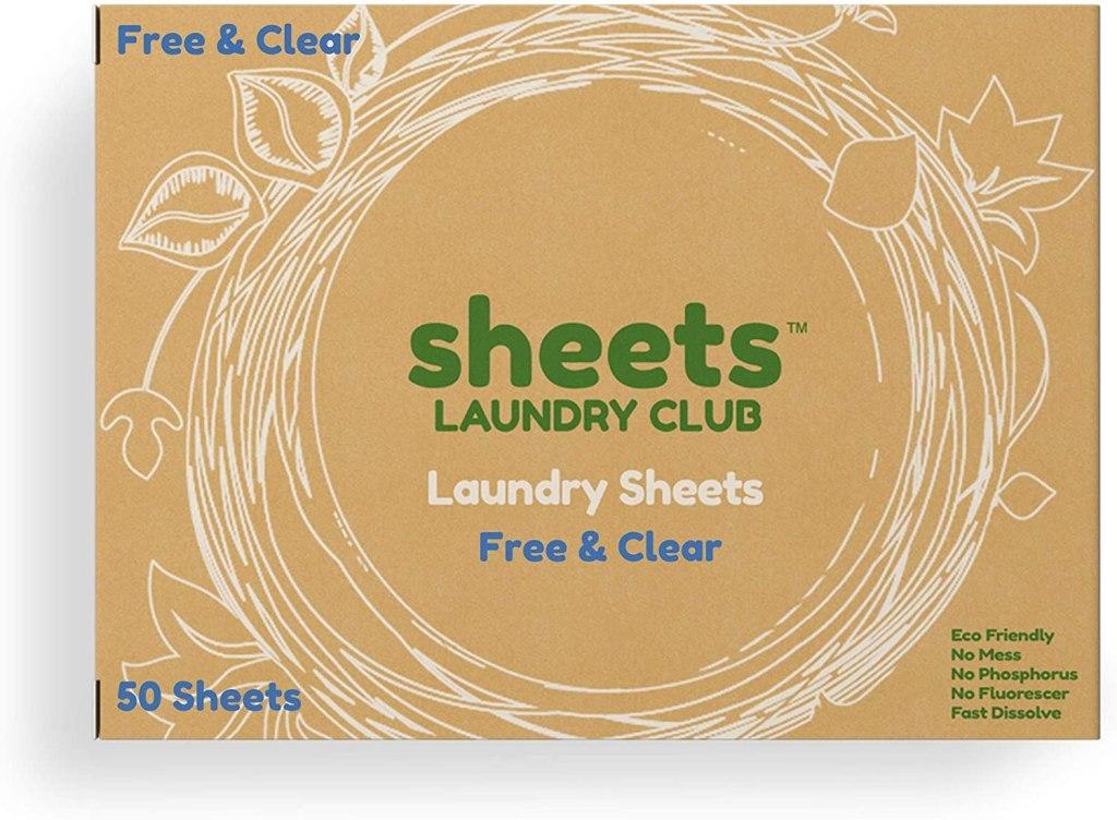 detergente ecológico en tiras