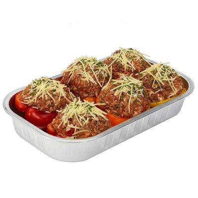 pimientos con carne y arroz de costco