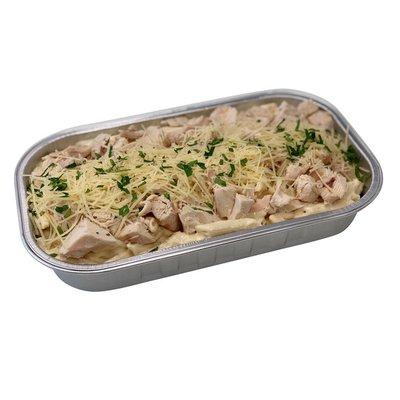 bandeja de pollo con pasta de costco