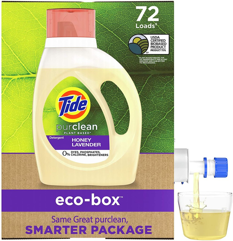 detergente ecológico de tide