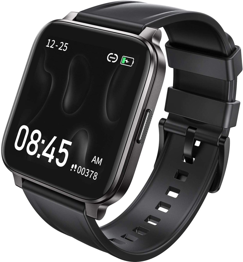 reloj inteligente negro