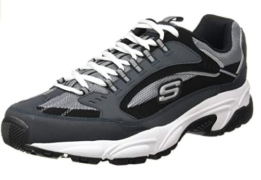 zapatos deportivos grises