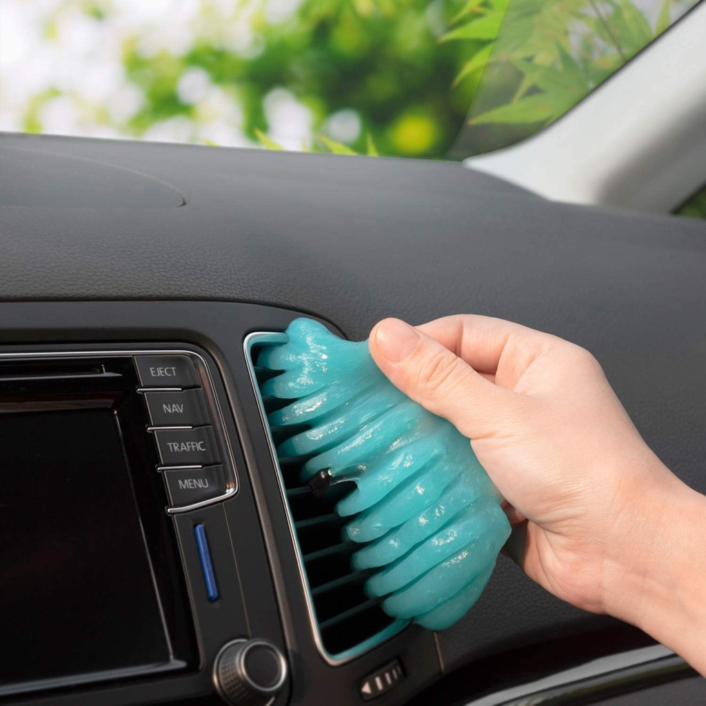 gel para limpiar autos