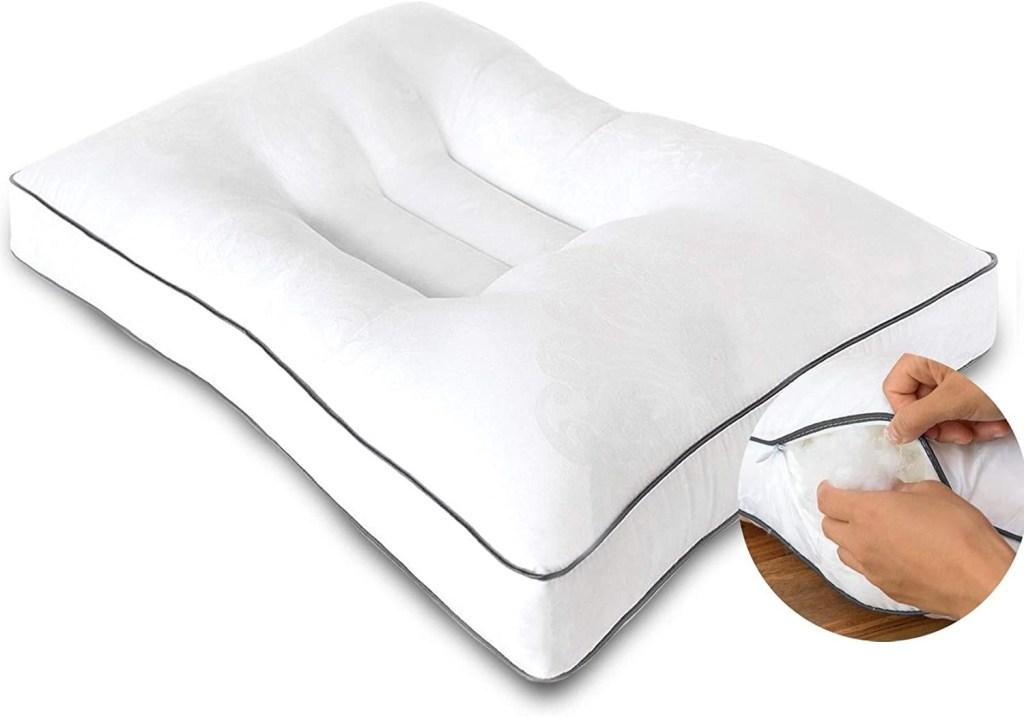 almohada para aliviar el dolor del cuello