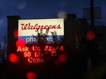 fachada de la farmacia walgreens