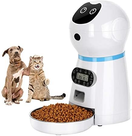comedero automático para mascotas programable