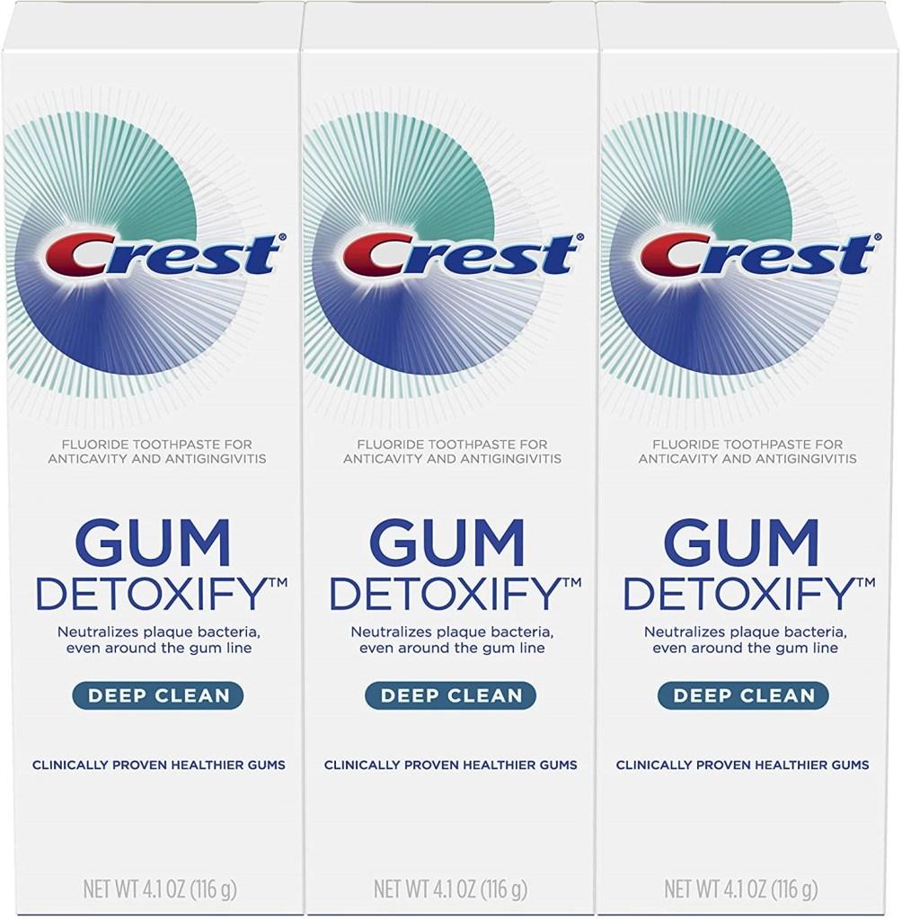 crema dental crest