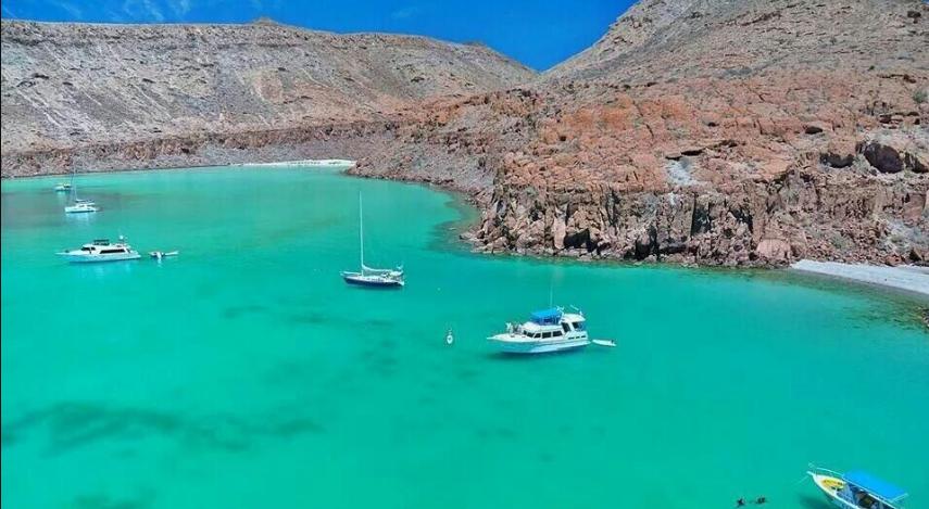 playas en méxico isla espiritu santo