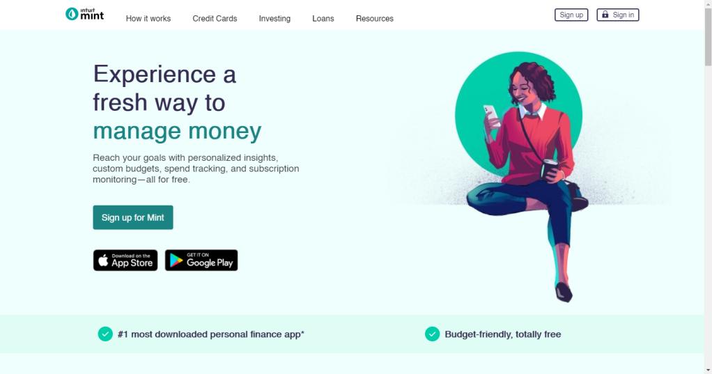 app mint para organizar las finanzas personales