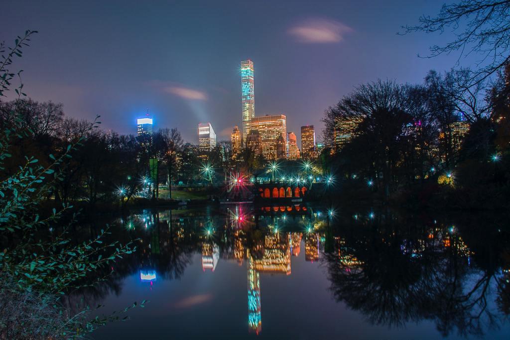 ciudad de nueva york desde central park