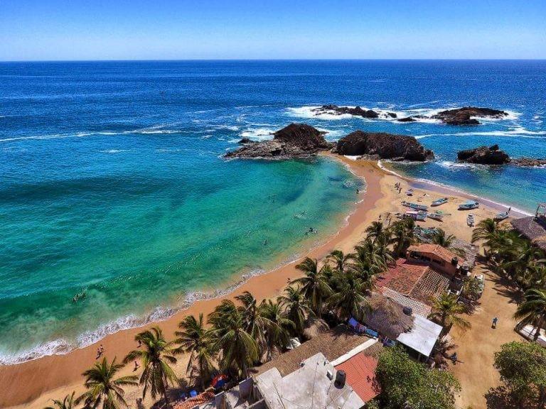 playas en méxico san agustinillo