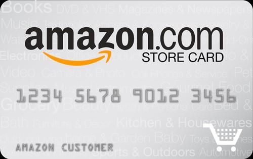 tarjeta de Amazon store card