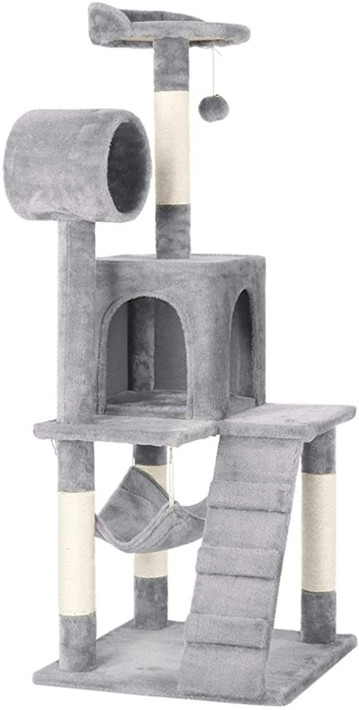 árbol artificial para gatos