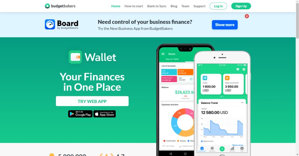 app wallet para organizar las finanzas personales