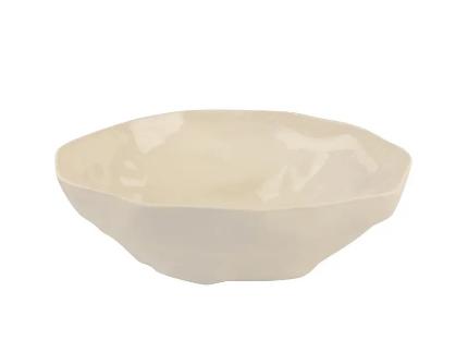 bowl elegante color blanco