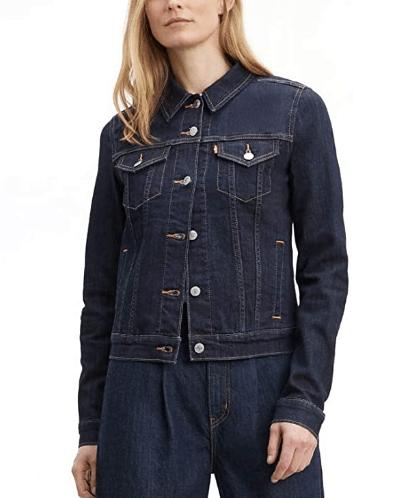 chaqueta de jean clásica para dama