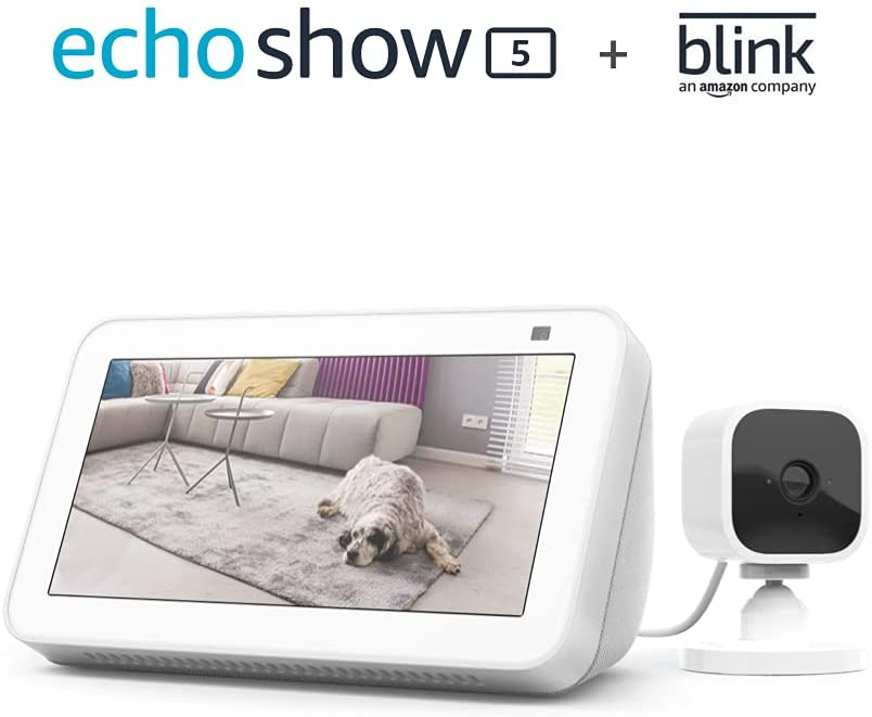 monitor con cámara de seguridad echo show