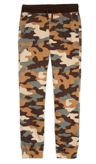pantalón de camuflaje deportivo