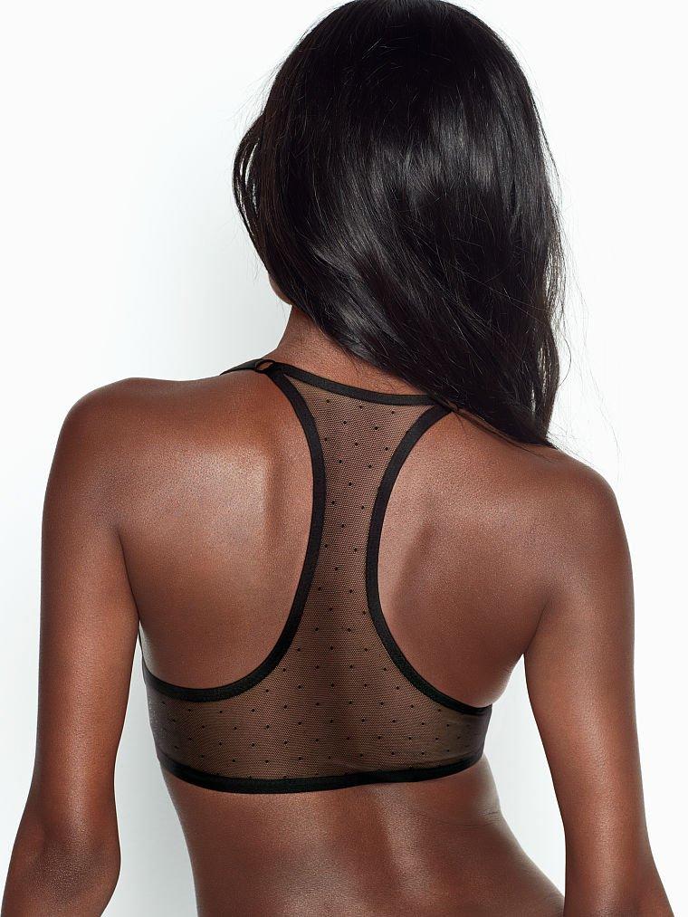 sujetador con apliques en la espalda