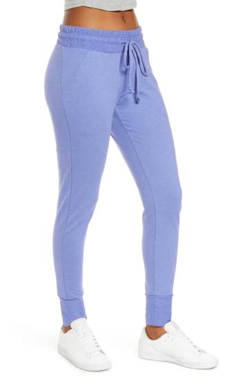 pantalones ajustados azules