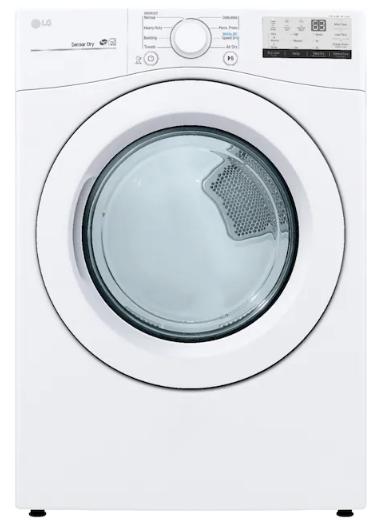secadora de ropa LG