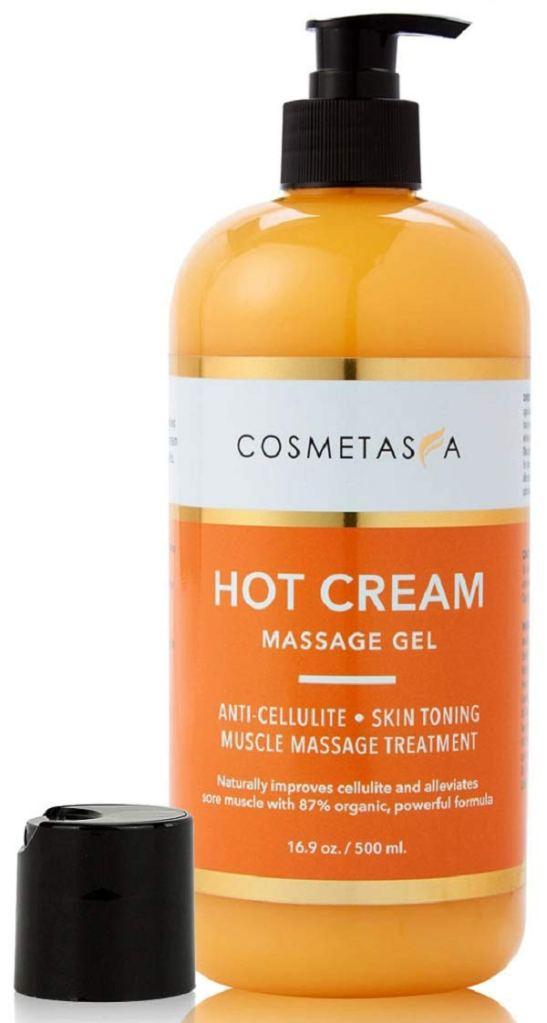 Crema caliente para masajes Cosmetasa
