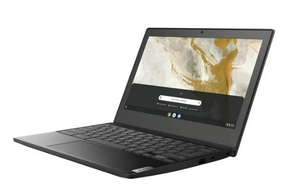 Laptop negra Lenovo