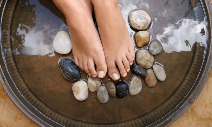 Desintoxicación iónica para los pies