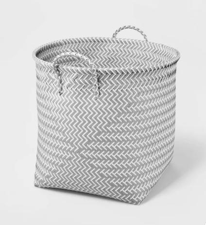 cesta organizadora de tela
