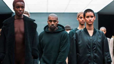 Kanye West en desfile