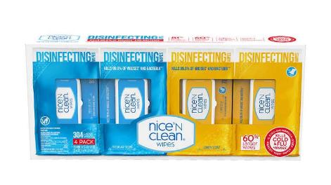 toallas desinfectantes