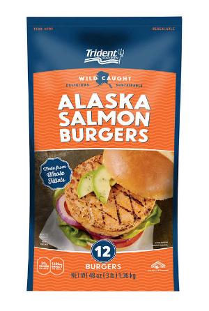 hamburguesa de salmón silvestre