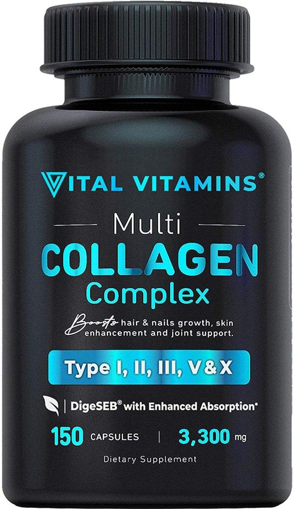 Suplemento de colágeno Vital Vitamins