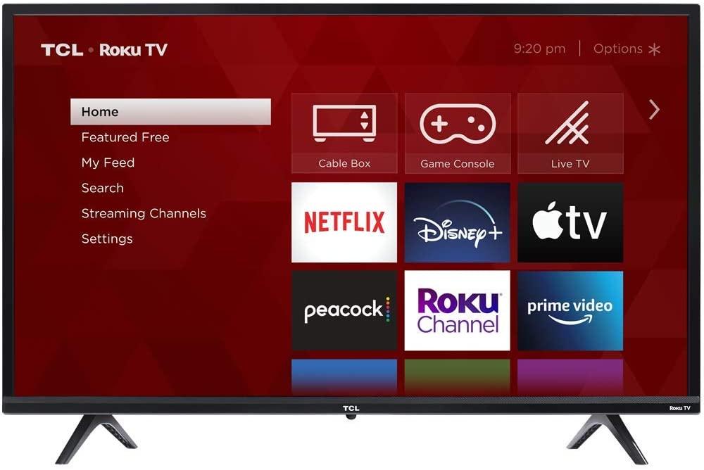 Televisor inteligente de 32 pulgadas TCL
